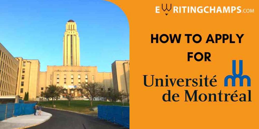 SOP Guidelines for University of Montreal