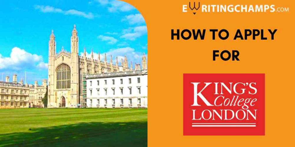 SOP Guidelines for King's College London