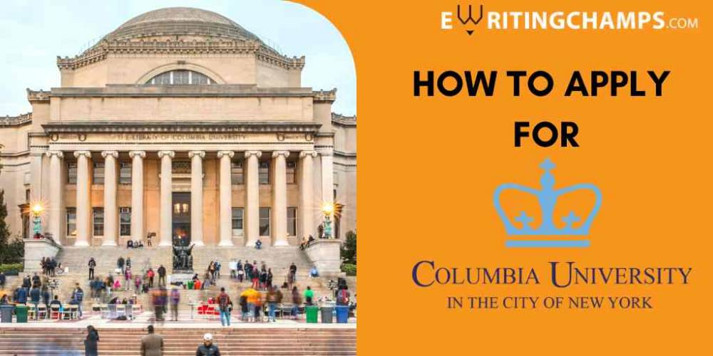 SOP Guidelines for Colombia University