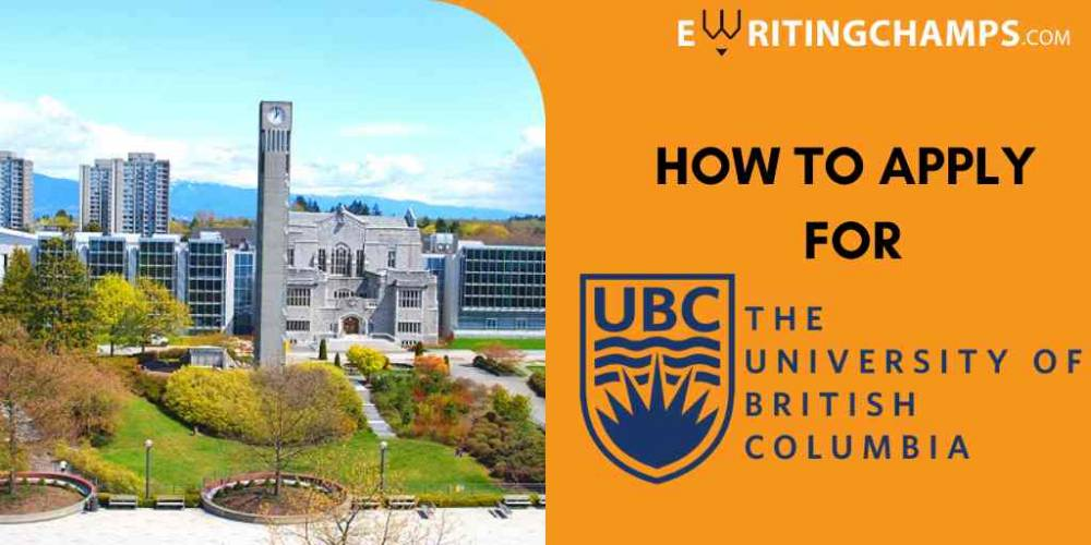 SOP Guidelines for University of British Columbia