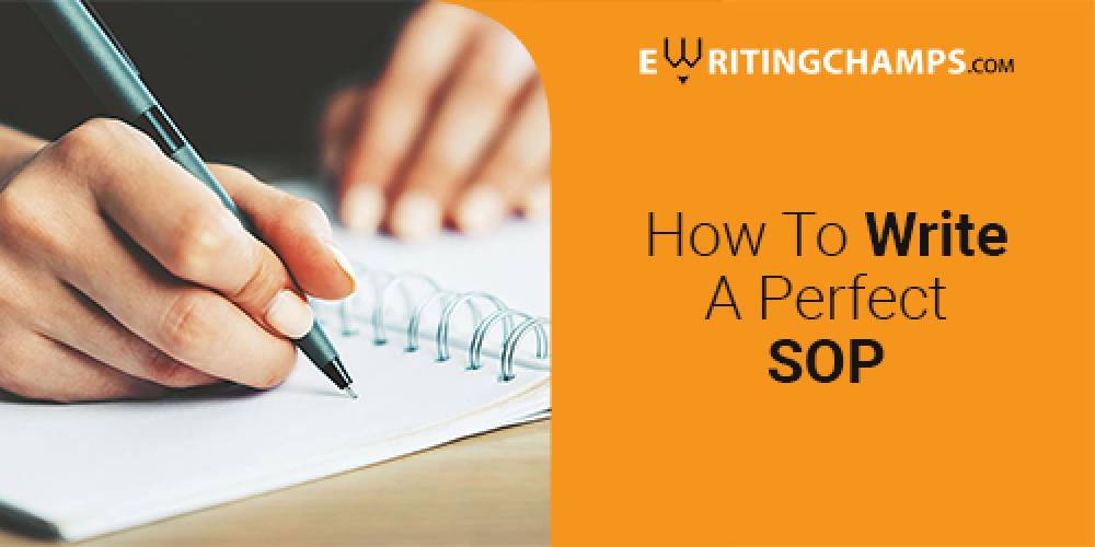 How to write a perfect SOP