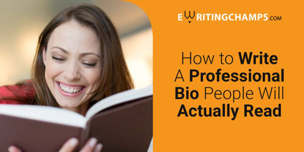 How to write a professional bio that people will read