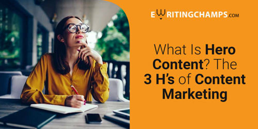 What is Hero Content? What are the three H's of Content Marketing?