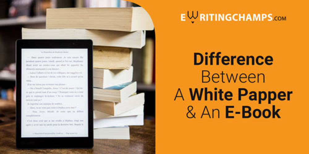 What is the difference between Whitepaper & eBook