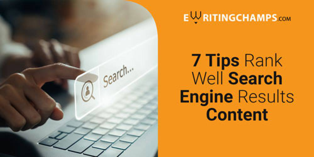Tips to Rank in Search Engine Results