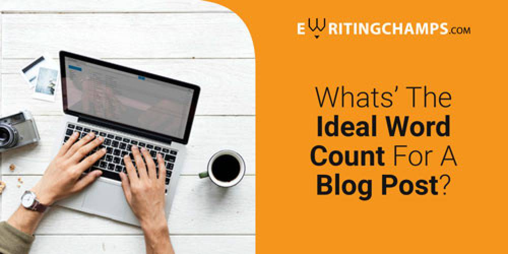 What is the ideal word count for a blog post?